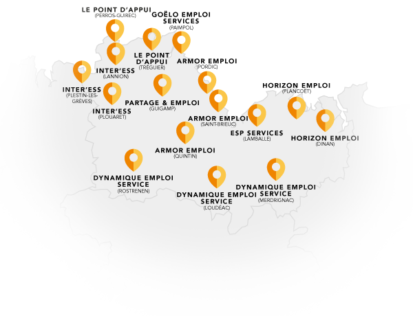 le réseau Elorys dans les Côtes d'Armor
