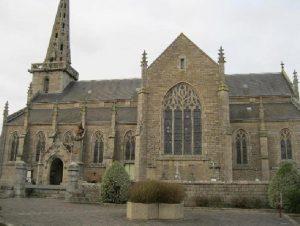 Goëlo Emploi Services nettoie l'Eglise de Plouëc du Trieux